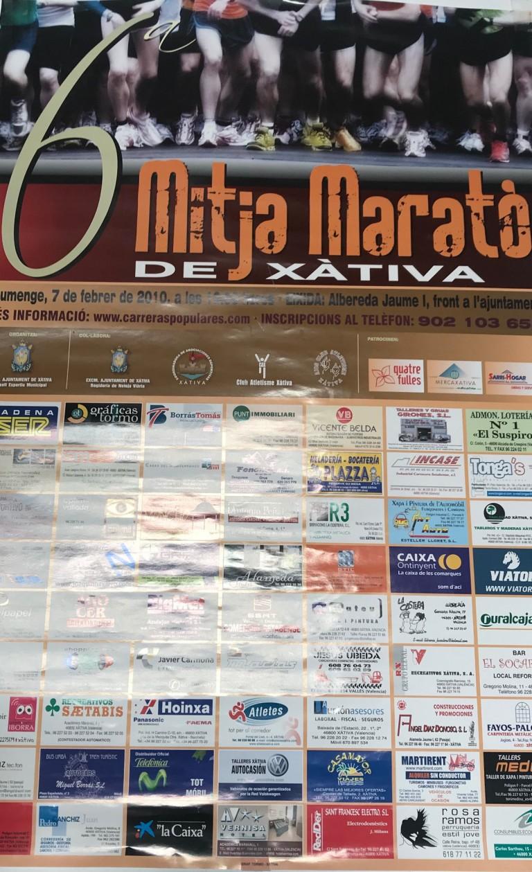 Mitja Marató Xàtiva 2010