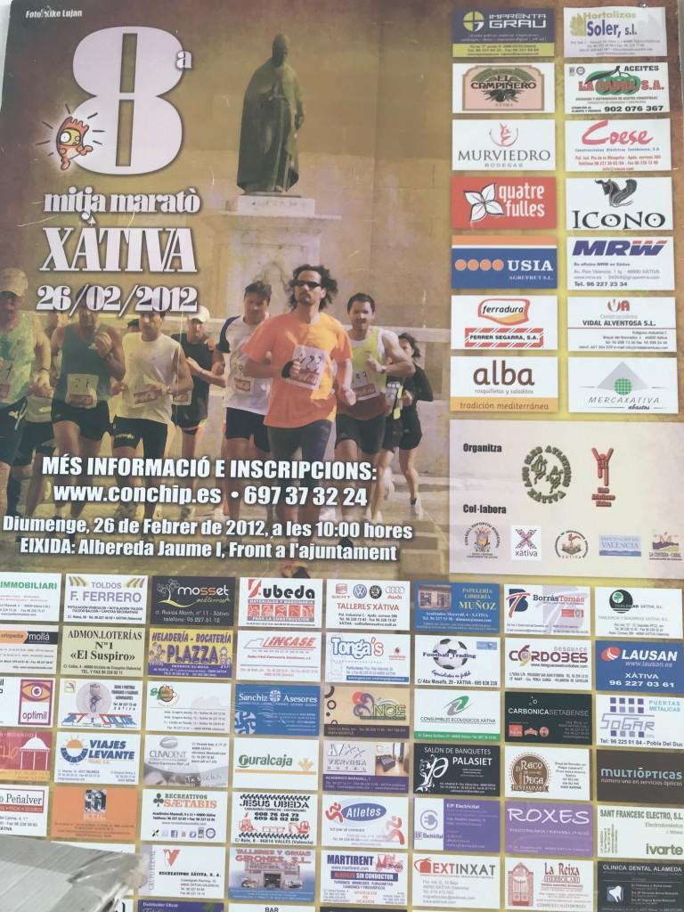 Mitja Marató Xàtiva 2012