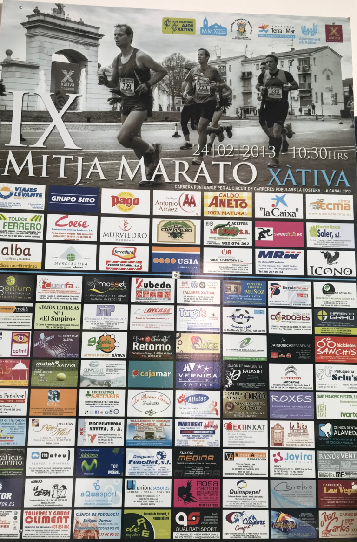 Mitja Marató Xàtiva 2013