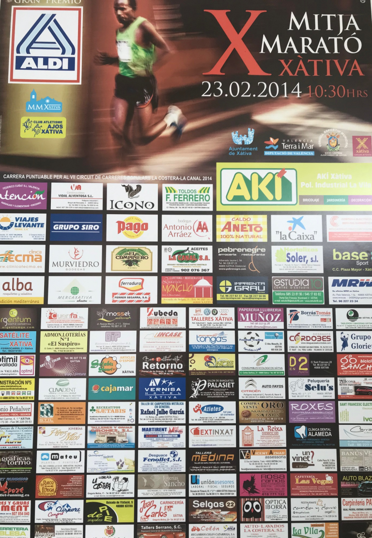 Mitja Marató Xàtiva 2014