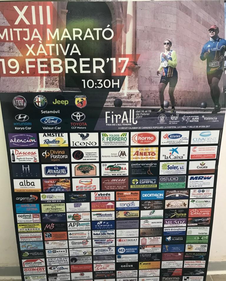 Mitja Marató Xàtiva 2017