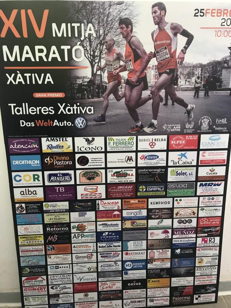 Mitja Marató Xàtiva 2018